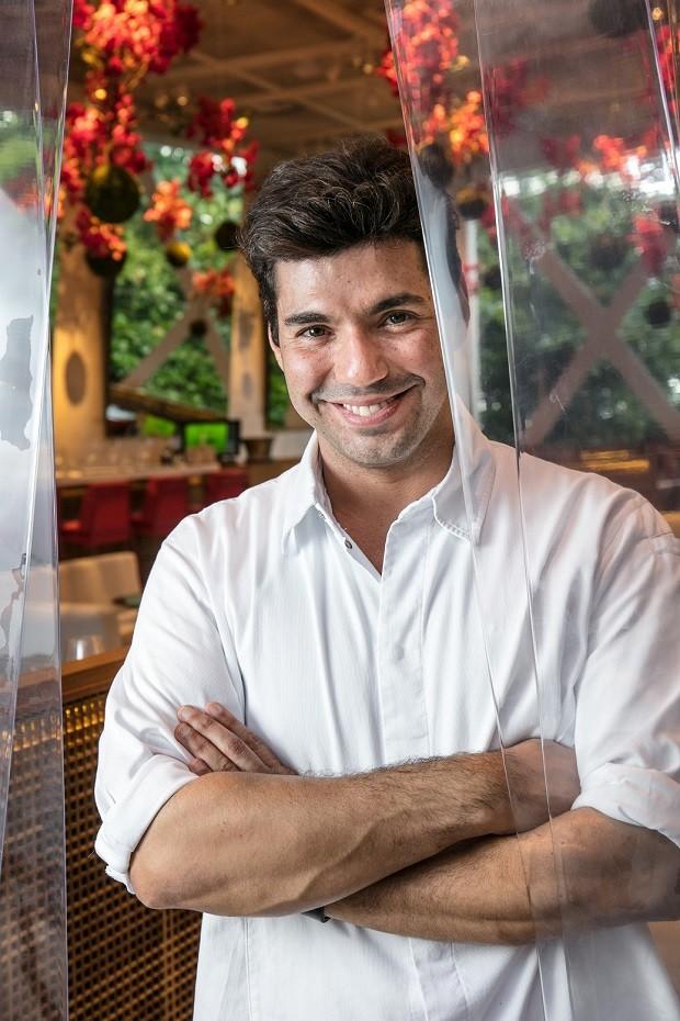 Felipe Bronze do restaurante Pipo ensina receita para o Dia dos Pais  (Foto: Tomás Rangel/ divulgação)