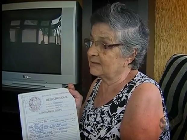 Zeneide Trajano viu o patrimônio da família despencar após morte do marido (Foto: Reprodução/ TV Asa Branca)