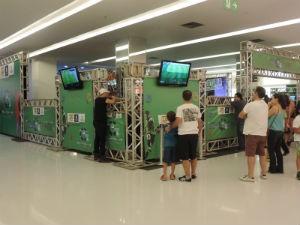 Campeonato teve início no sábado (11), no Plaza Avenida Shopping (Foto: Bruna Alves/G1)