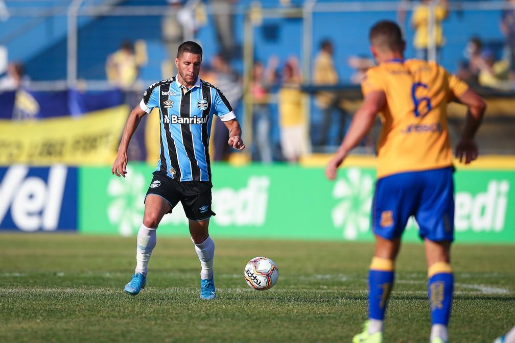 Thiago Neves, Pelotas 0x1 Grêmio — Foto: Lucas Uebel/DVG/Grêmio