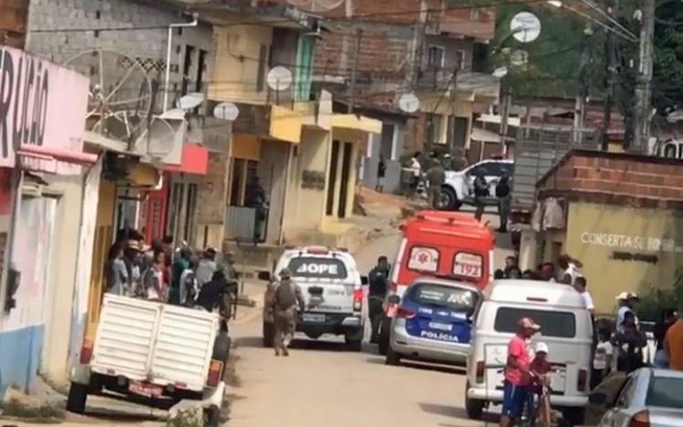 Filho deixou mãe em cárcere privado no distrito de Camela, em Ipojuca — Foto: Reprodução/WhatsApp