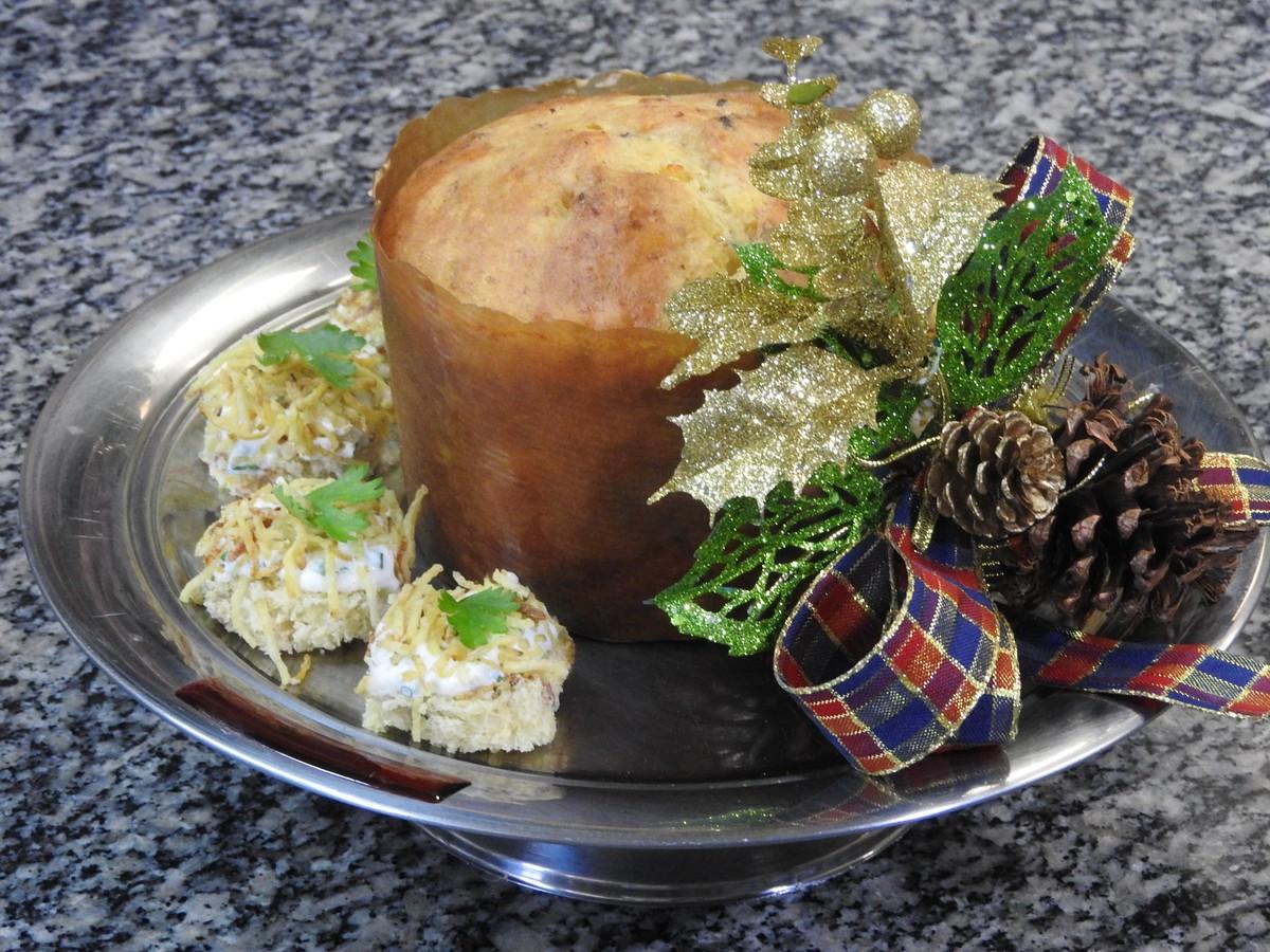 Chef de cozinha de RR ensina receita de panetone salgado para ceia de Natal