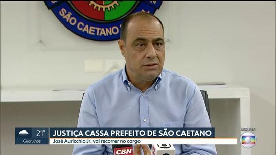 Justiça cassa prefeito e vice de São Caetano do Sul