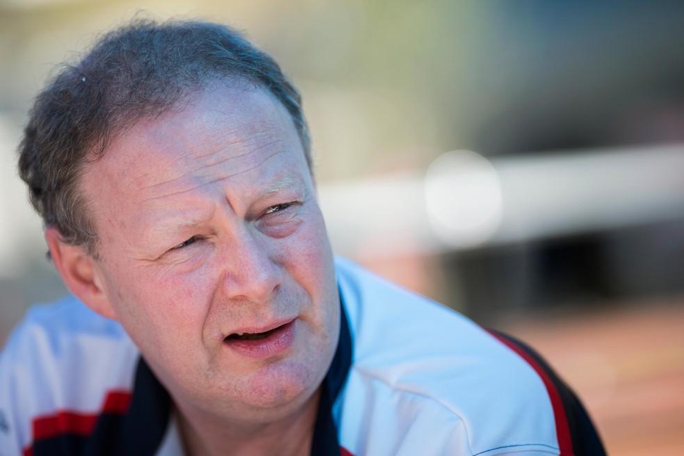 Mike Coughlan era engenheiro da McLaren no ano de escândalo de espionagem — Foto: Getty Images