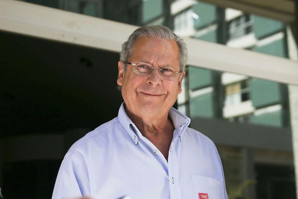 O ex-ministro José Dirceu deve se apresentar à PF para cumprir pena da Lava Jato — Foto: Marcelo Camargo/Agência Brasil
