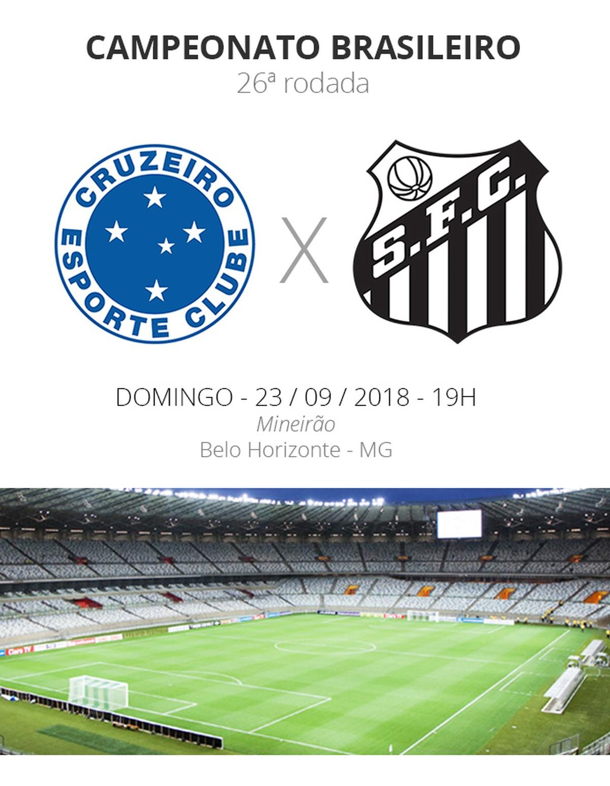 Rodada  26  tudo o que você precisa saber sobre Cruzeiro x Santos ... cde2bc0afa97d