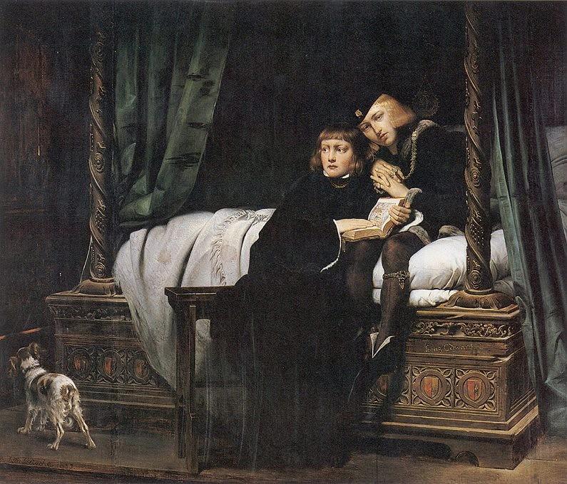 Eduardo e Ricardo, sucessores da coroa inglesa que foram mortos (Foto: Reprodução)
