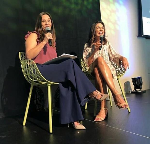 Fátima Bernardes no Press Awards de Arte e Cultura (Foto: Reprodução/Instagram)