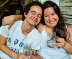 Mariana Xavier e Diego Braga | Reprodução
