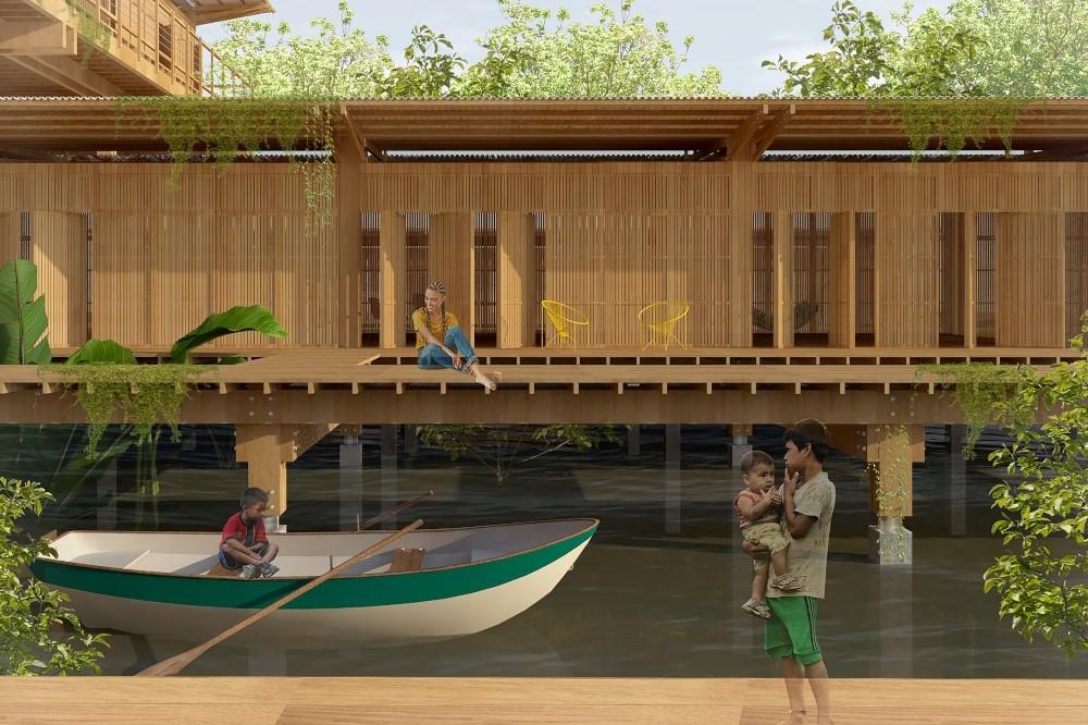 VÍDEO: Arquiteta desenvolve projeto para habitação de ribeirinhos em Manaus