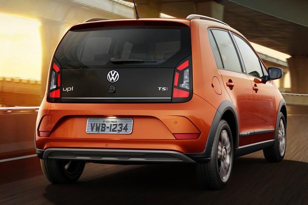 Volkswagen up! foi um dos primeiros carros compactos a vir com o turbo e injeção direta (Foto: Divulgação)