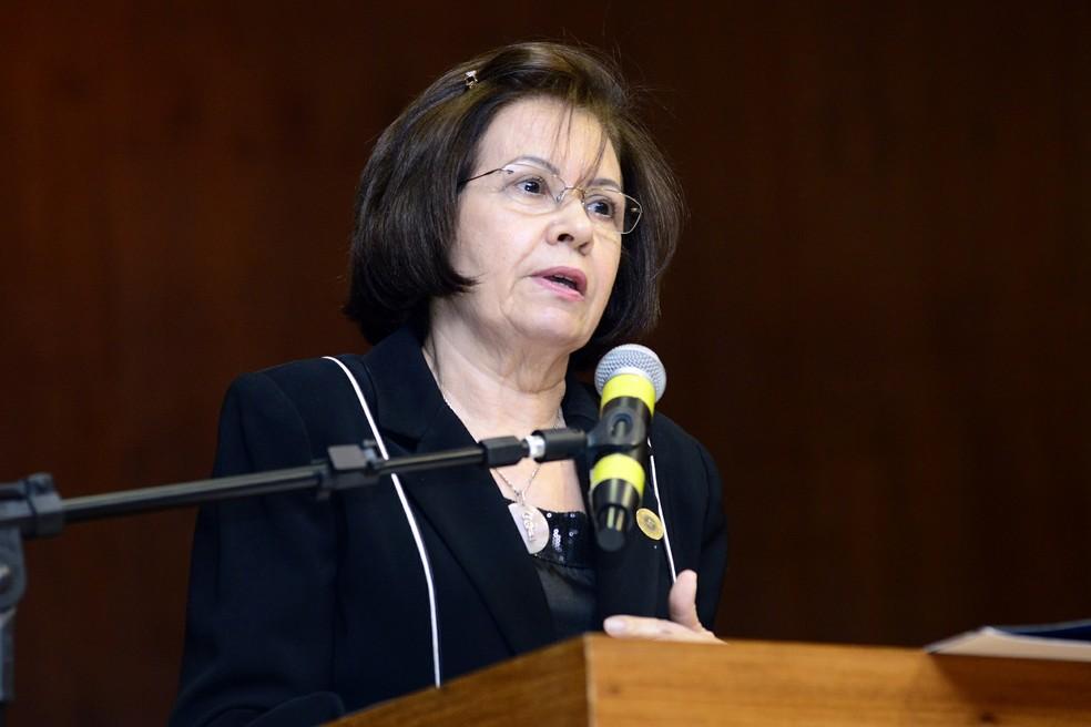 A presidente do Superior Tribunal de Justiça (STJ), ministra Laurita Vaz (Foto: Gustavo Lima/STJ)