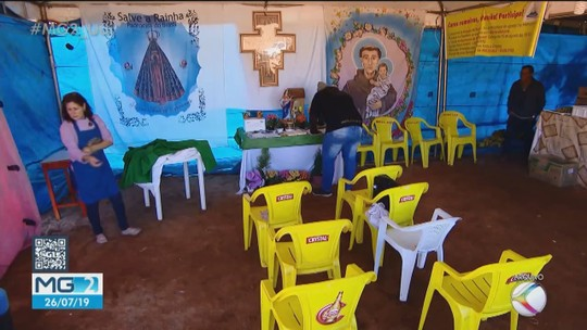 Ponto de apoio para romeiros será montado entre Patos de Minas e Guimarânia