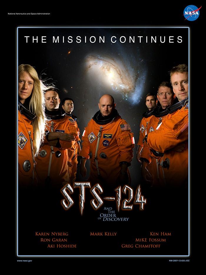 Expedição 124 (Foto: NASA)