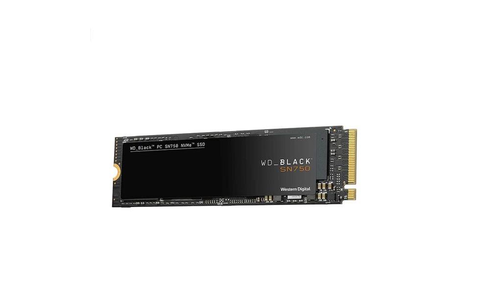 SN750 da série Black oferece alta performance entre opções NVMe com PCIe 3.0 — Foto: Divulgação/Western Digital