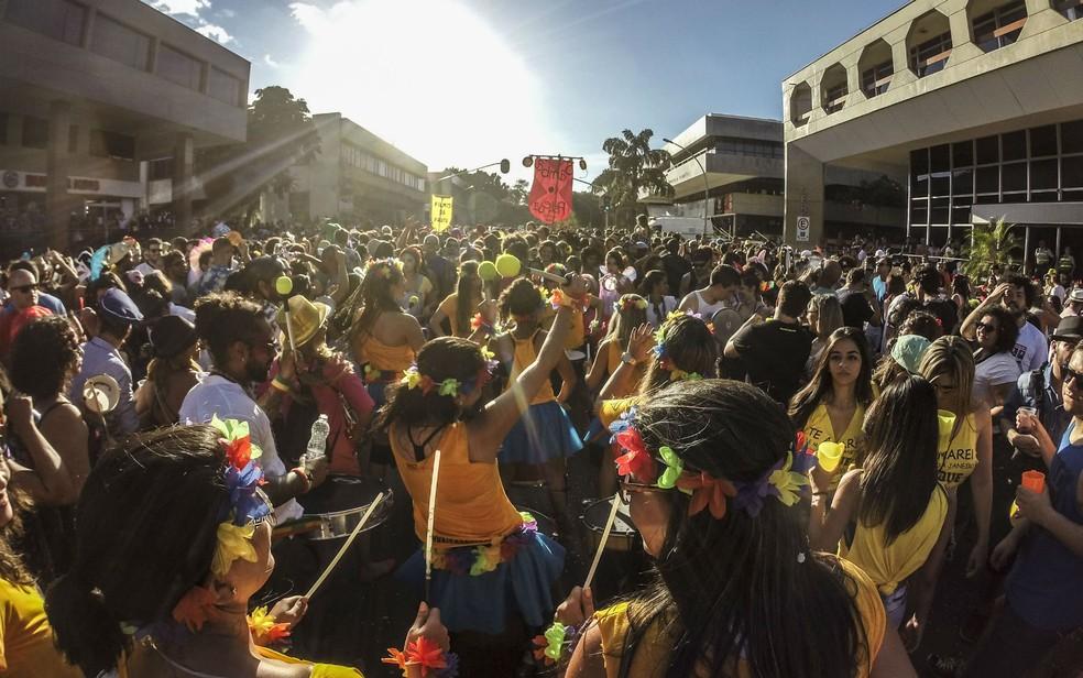 O bloco Samba do Peleja começa às 16h na Praça dos Prazeres, na 201 Norte, em Brasília (Foto: Ubirajara Machado/Divulgação)