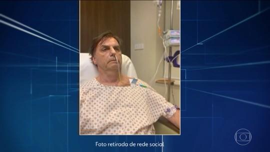Médicos colocam sonda nasogástrica e suspendem dieta oral de Bolsonaro