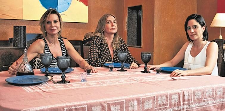 Paula Burlamaqui, Maria Padilha e Fernanda Vasconcellos  (Foto: Divulgação)