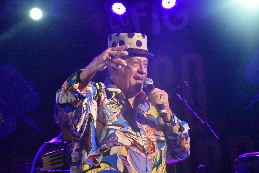 Nos seus 64 anos de carreira, Genival Lacerda se tornou ídolo popular e conhecido em todo o Brasil — Foto: André Gomes/Secult-PE/Divulgação
