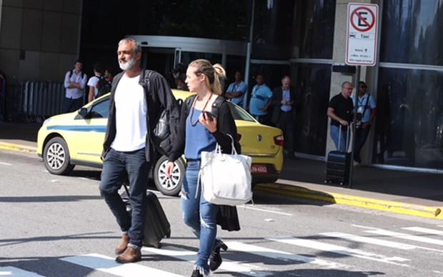 Paolla Oliveira e Rogério Gomes (Foto: André Freitas/AgNews)
