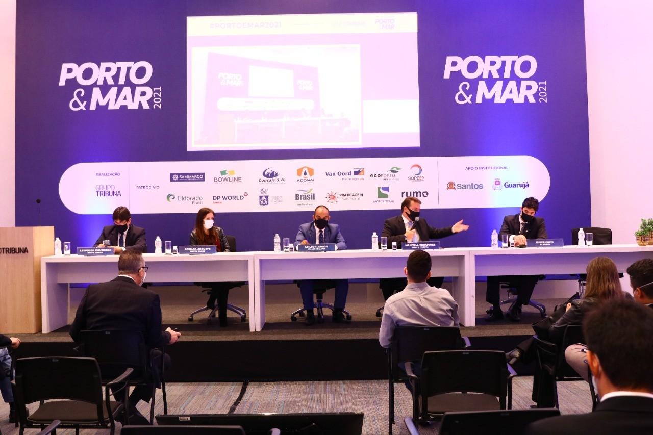 Autoridades discutem expectativas e desafios da expansão portuária no 1º Encontro Porto e Mar 2021