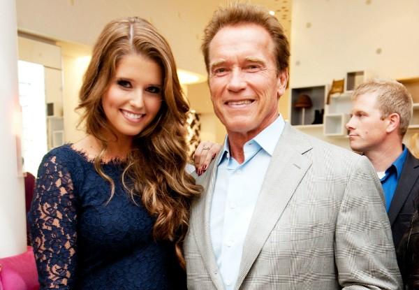 Arnold Schwarzenegger e Katherine Schwarzenegger (Foto: Getty Images)