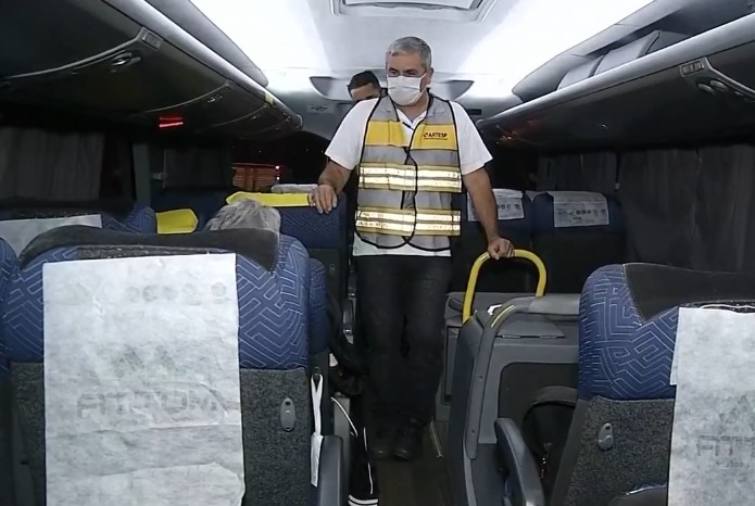 Artesp fiscaliza situação do transporte intermunicipal durante a pandemia na região de Assis