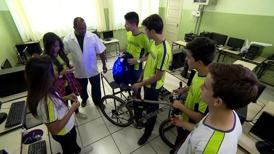 Aluno Nota 11: Alunos criam sistema de proteção de ciclistas