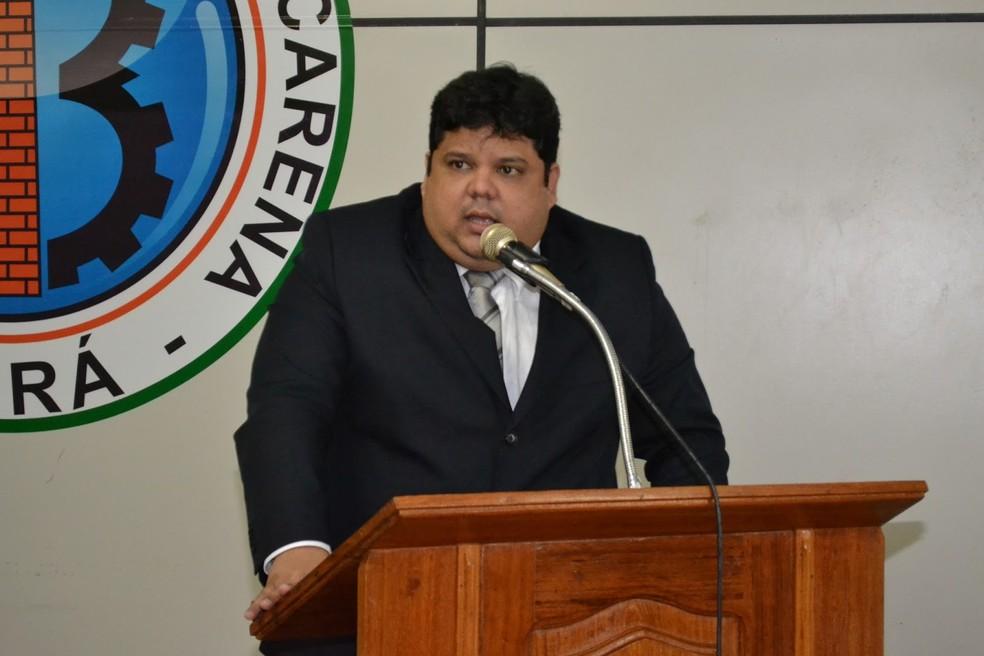 -  Vereador Lauro Custódio Campos da Cunha Júnior  Foto: Câmara Municipal de Barcarena