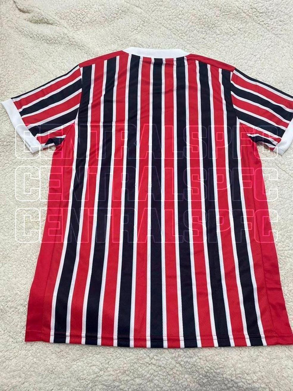 Nova camisa 2 do São Paulo — Foto: Reprodução redes sociais