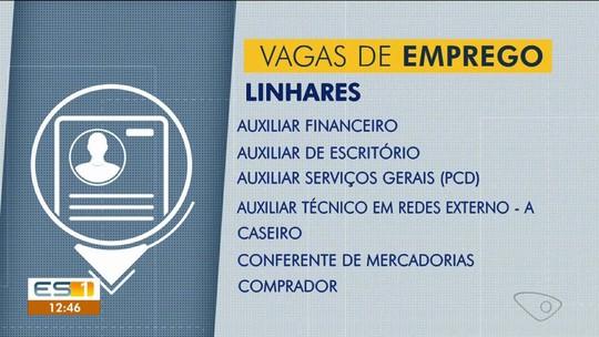 Ao Trabalho: confira as vagas disponíveis no Sine de Linhares, ES