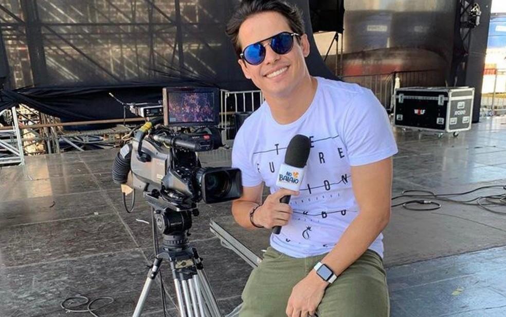 Apresentador da TV Anhanguera, 'Seu Waldemar' está internado na UTI de hospital em Goiânia — Foto: Reprodução/Instagram