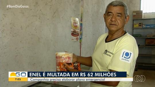 AGR multa Enel em R$ 62 milhões