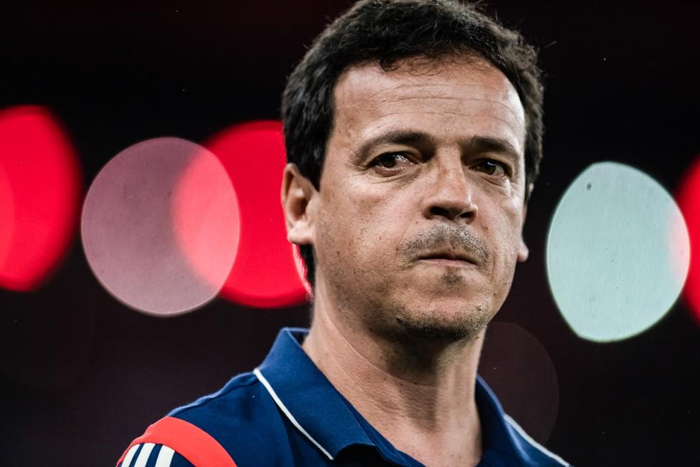 Fernando Diniz só teve um treino no São Paulo antes de estrear no comando do time — Foto: Jorge R Jorge/BP Filmes