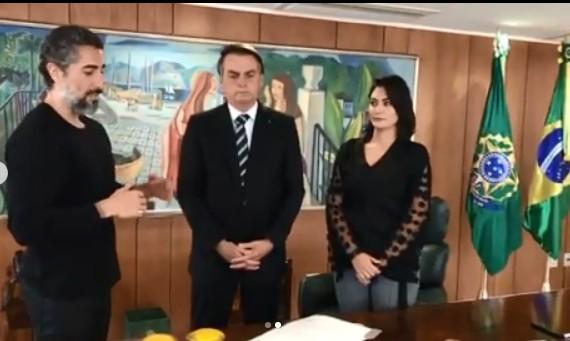 O presidente Jair Bolsonaro sancionou a lei que inclui os autistas no Censo do IBGE (Foto: Reprodução Instagram)