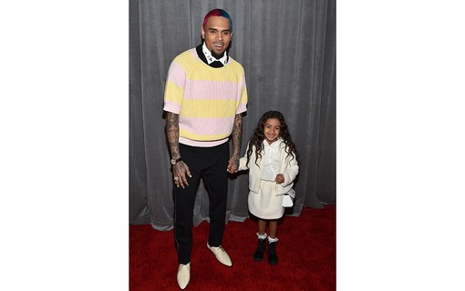 Chris Brown e Royalty Brown