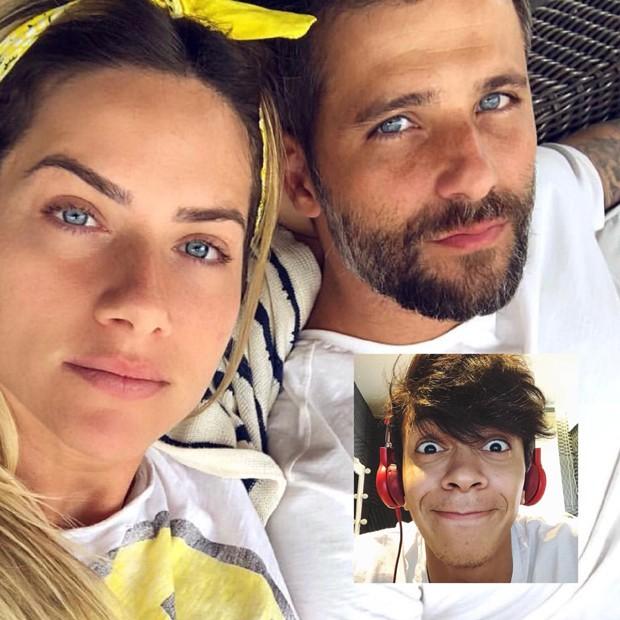 Giovanna Ewbank e Bruno Gagliasso lutam pelo boicote do youtuber Júlio Cocielo (Foto: Reprodução/Instagram)