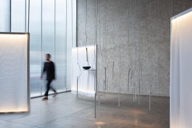 Designer brasileiro cria luminária minimalista inspirada na cana-de-açúcar  (Foto: Divulgação)