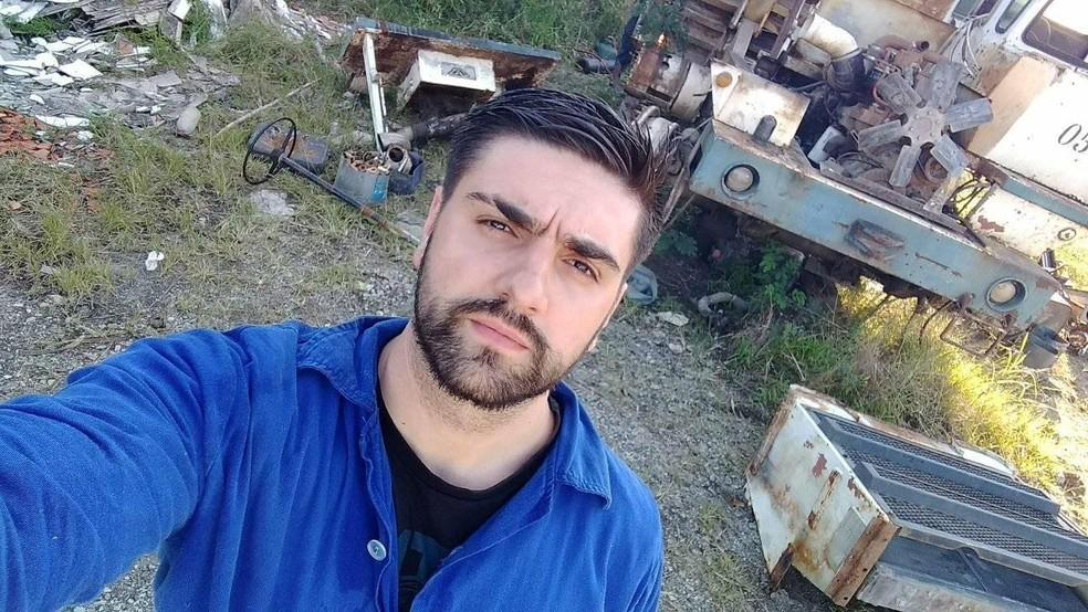 Tales Volpi, conhecido Mc Reaça, morreu aos 25 anos em Valinhos  — Foto: Reprodução/Facebook
