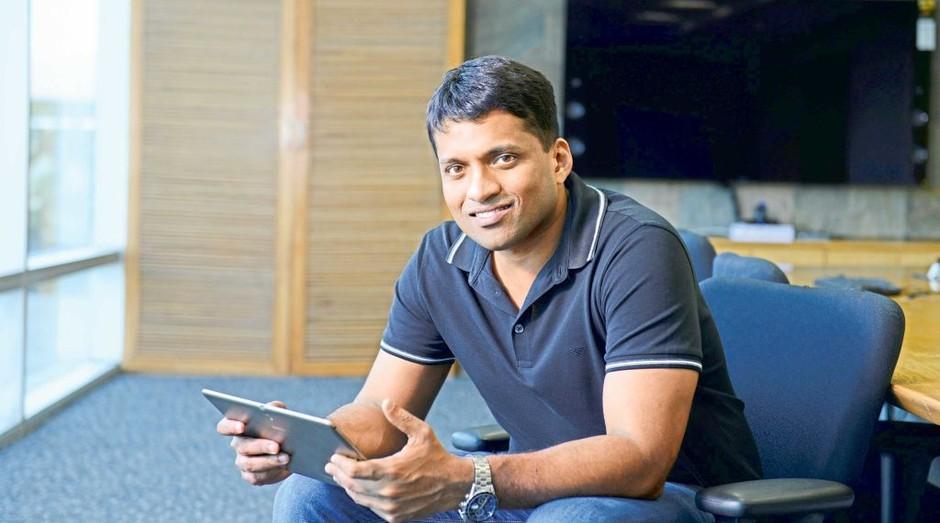 Byju Raveendran, da Think & Learn: bilionário aos 37 anos (Foto: Divulgação)