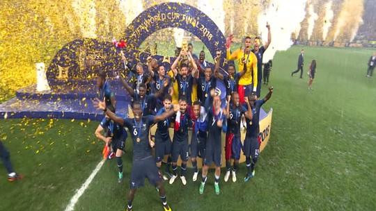 Assista aos gols da França na campanha do título