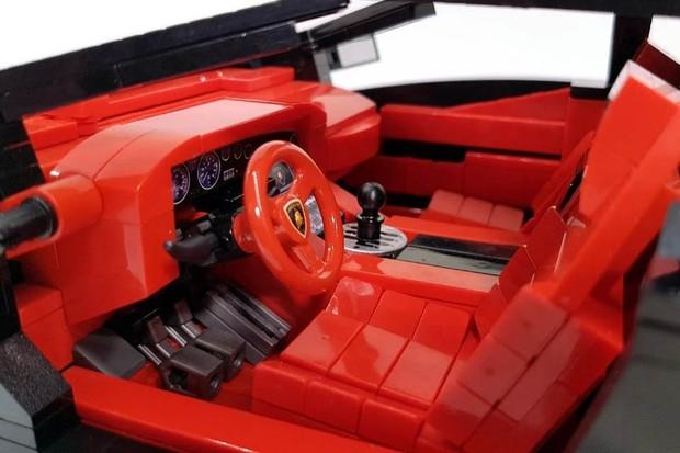 Lamborghini Diablo de lego (Foto: Divulgação)