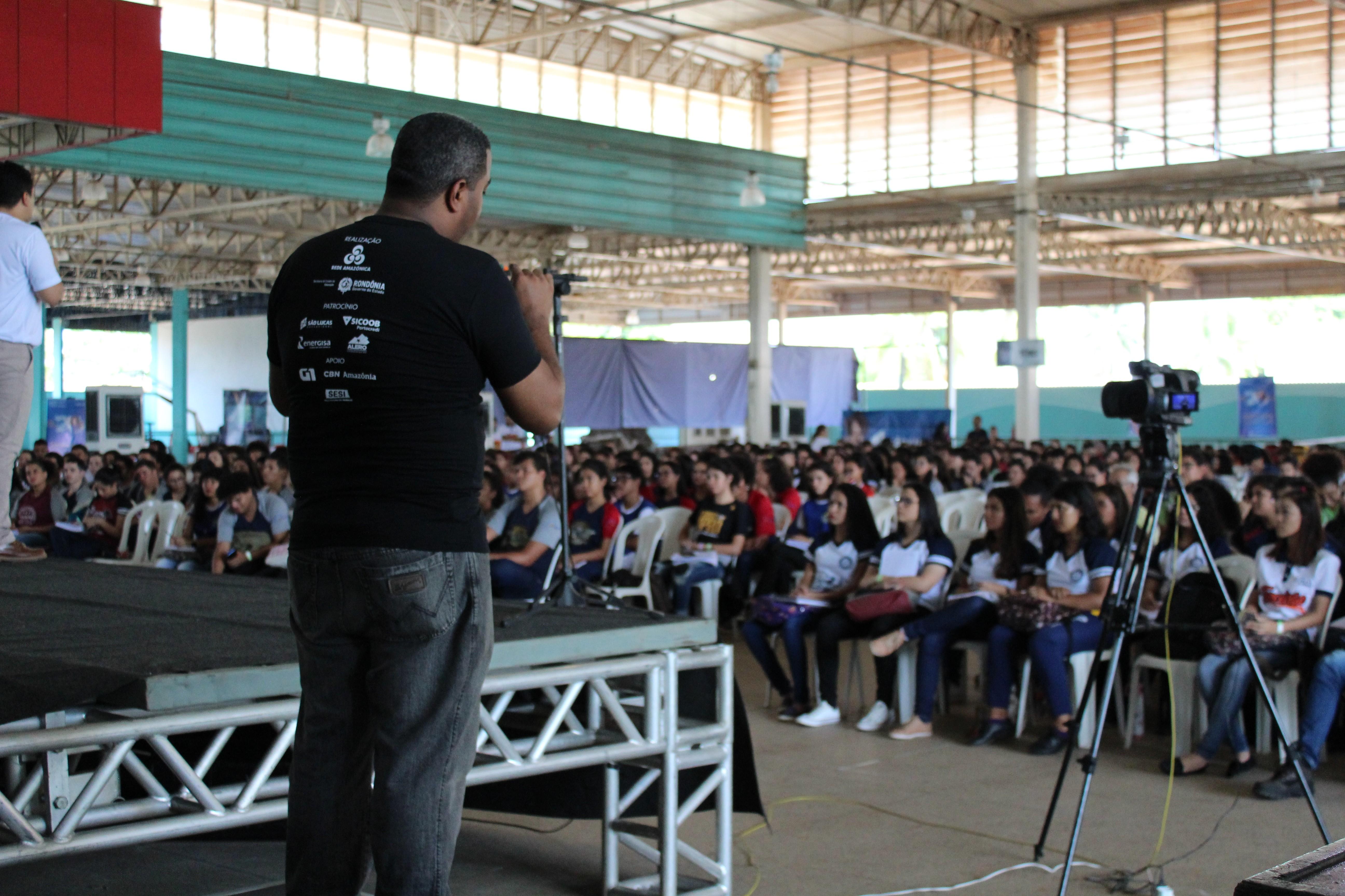 Veja imagens do segundo dia da 4ª edição do 'Aulão na Rede' em Porto Velho