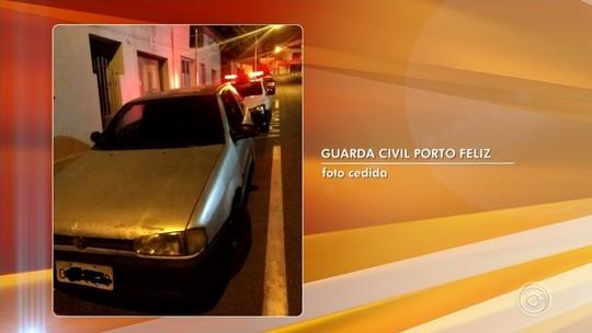 Guarda Municipal de Porto Feliz recupera carro furtado em Indaiatuba