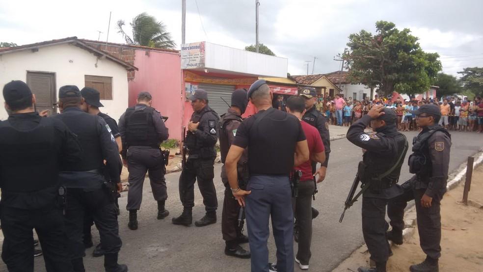 Caso foi em Macaíba, na Grande Natal (Foto: Julianne Barreto/Inter TV Cabugi)