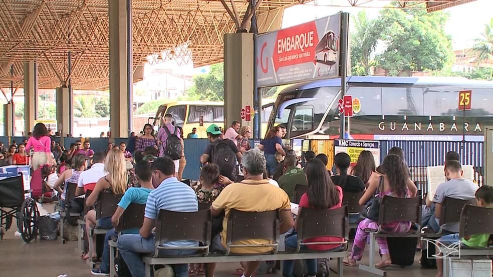 Terminal Rodoviário de São Luís. — Foto: Reprodução/TV Mirante