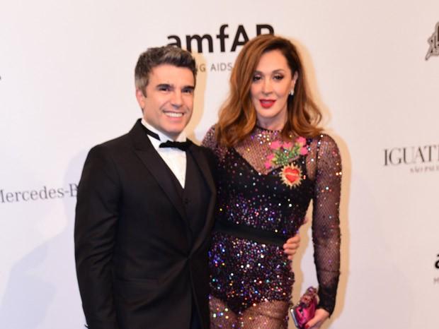 Claudia Raia e Jarbas Homem de Mello (Foto: Deividi Correa / Léo Franco e Thiago Duran / AgNews)