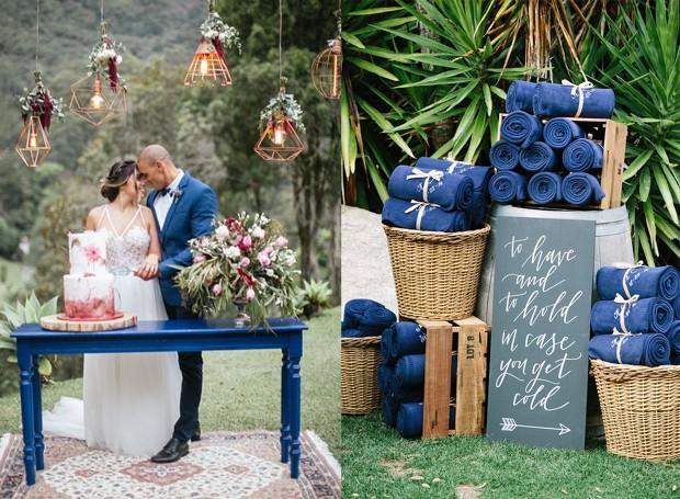 O terno do noivo também pode ir bem com a decoração (Foto: Pinterest/ Reprodução)