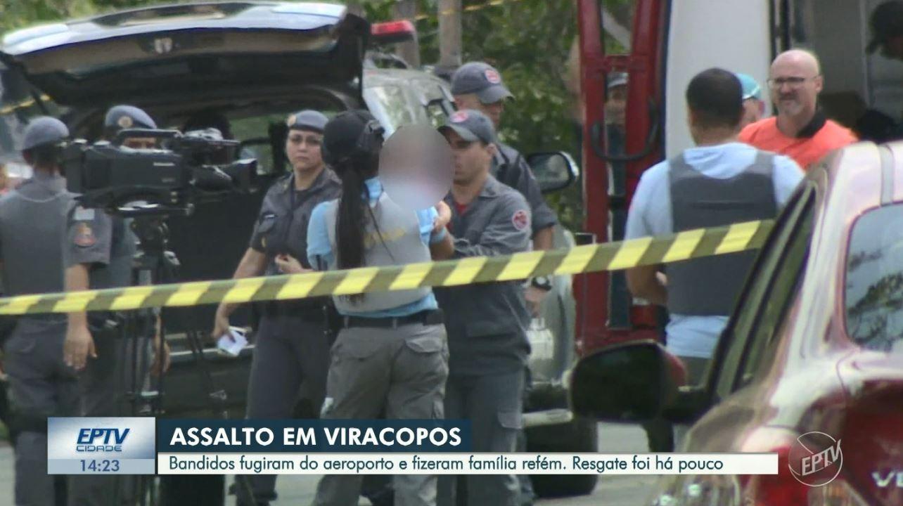 Assalto em Viracopos: mulher ferida após ficar refém com bebê está internada na UTI, diz família - Notícias - Plantão Diário