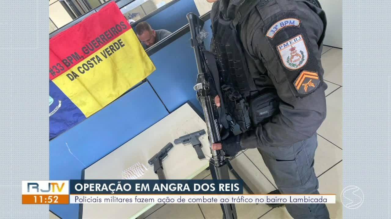 Dois suspeitos de envolvimento com tráfico morrem em confronto com a PM em Angra dos Reis